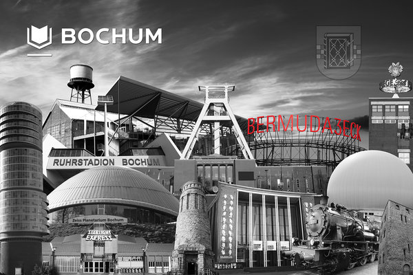 Bochum Collage 1 - s/w