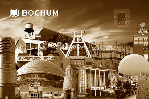 Bochum Collage 1 - sepia