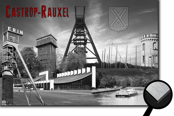 Castrop-Rauxel Collage 1 - s/w