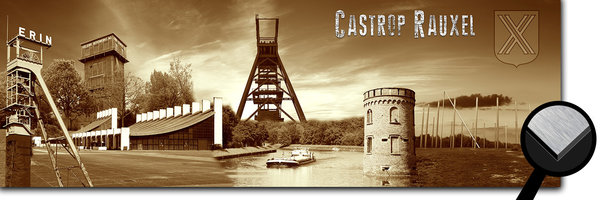 Castrop-Rauxel Collage 2 - sepia