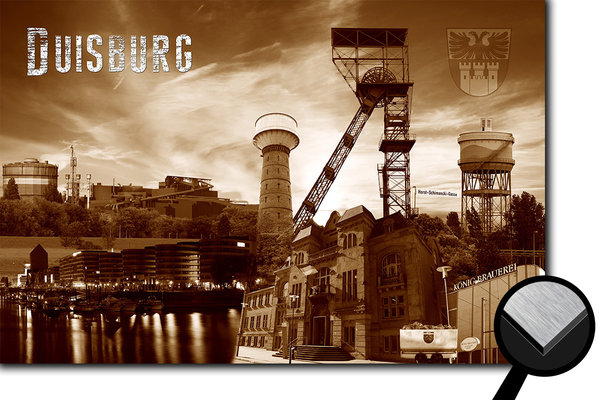Duisburg Collage 1 - sepia