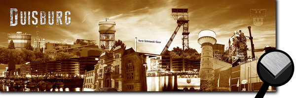 Duisburg Collage 2 - sepia