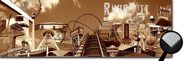 Ruhrpott Collage 2 - sepia