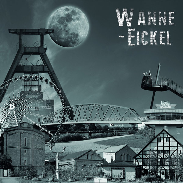 Wanne-Eickel Collage 5 - s/w
