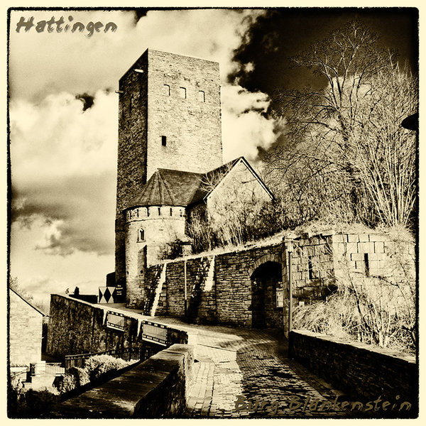 Hattingen Retro Burg Blankenstein
